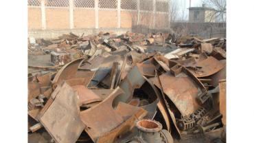 潮州大量废铁回收